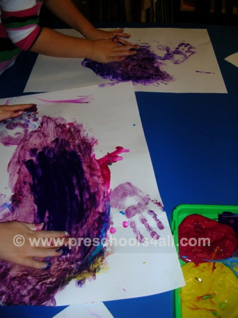 how to make finger paint at home