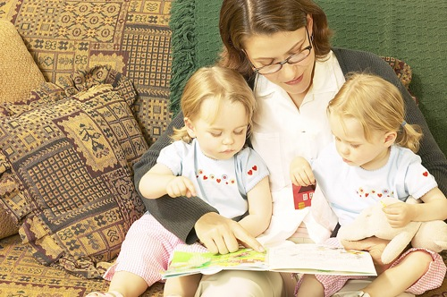 reading with children, reading to kids