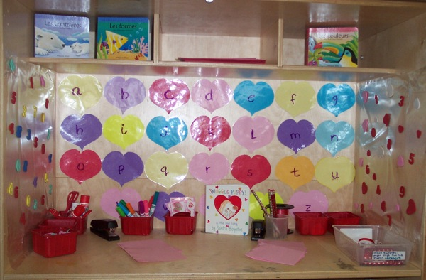 valentine bulletin board ideas, february bulletin boards, dinosaur bulletin