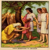 Story of Abraham and The Three Angels