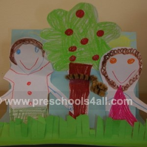 Adam and Eve Arts and Crafts