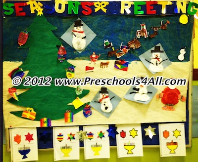 christmas bulletin board ideas for math