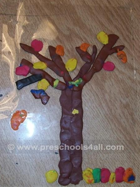 Plasticine Tree