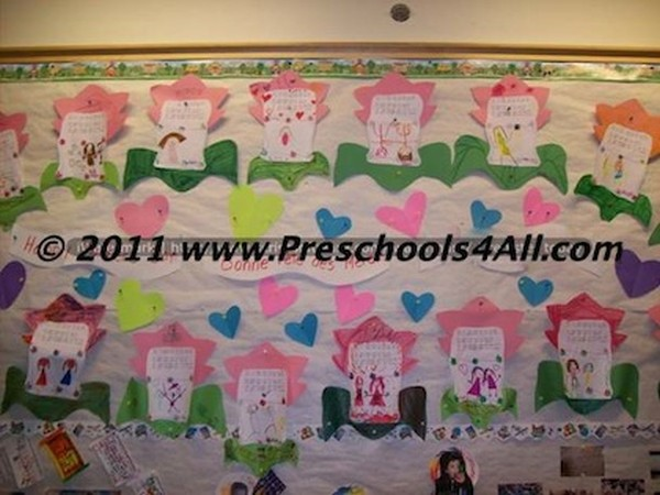 Mother's Day Bulletin Board 2