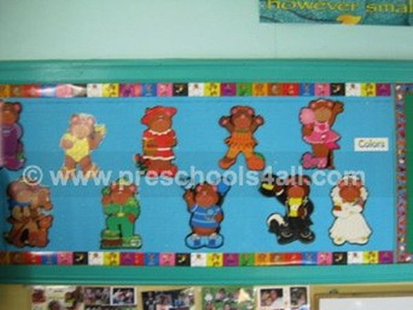 Colors Bulletin Board 4