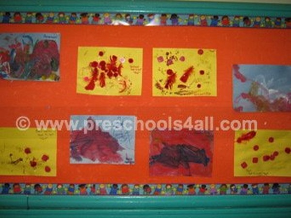 Colors Bulletin Board 1