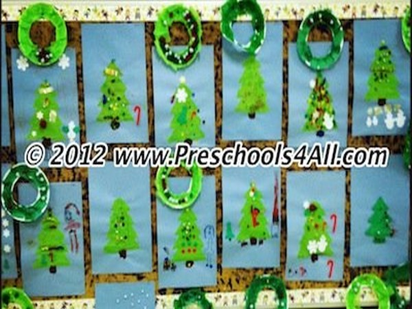Christmas Bulletin Board Bulletin Board Pre School Ideas Pinterest