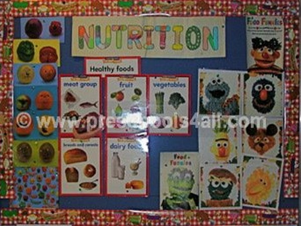 Preschool Bulletin Board