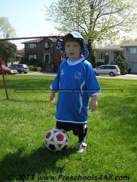 Soccer Player Costume