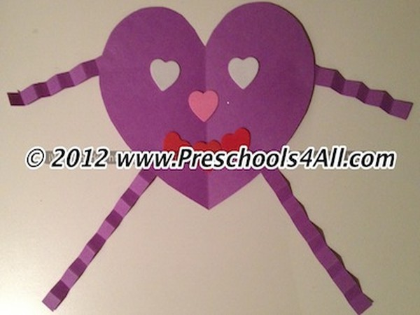 Simple Valentine S Day Crafts For Preschoolers
