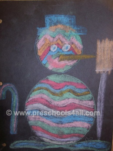 Chalky Snowman