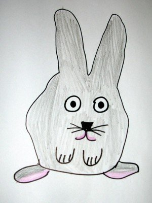 Easter Bunny Drawing 2