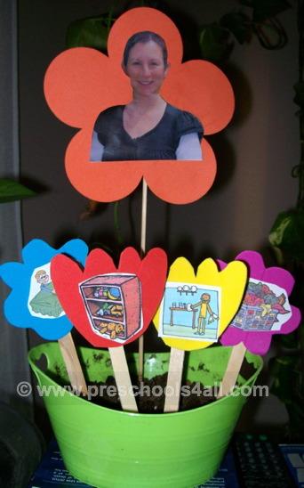 Flower Pot Chore Chart