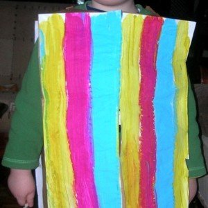Joseph and His Coat of Many Colors Arts and Crafts