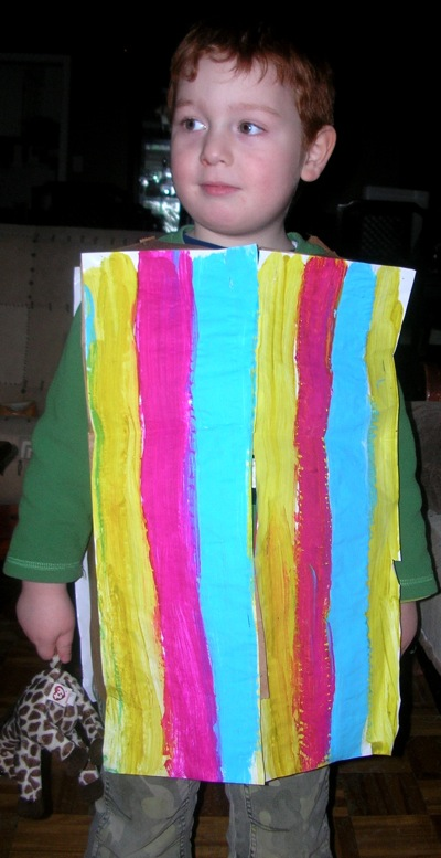 Joseph and His Coat of Many Colors Art