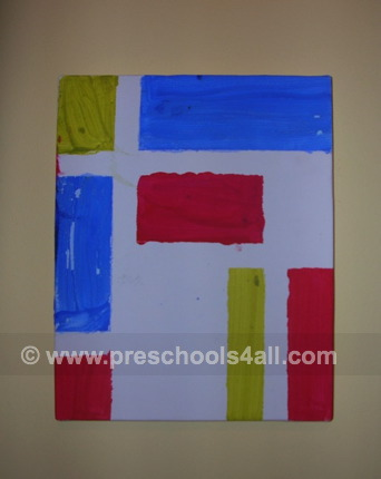 Painting with Tape 2