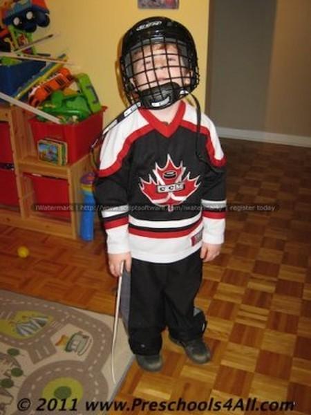 Hockey Player Costume